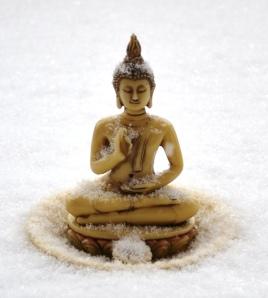 Snowy Buddha